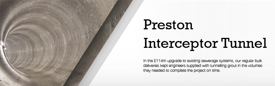 Preston Sewage Interceptor Tunnel