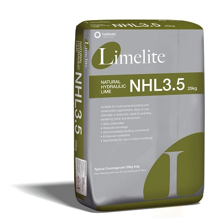 Limelite Natural Hydraulic Lime.