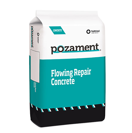 Flowing Repair Concrete