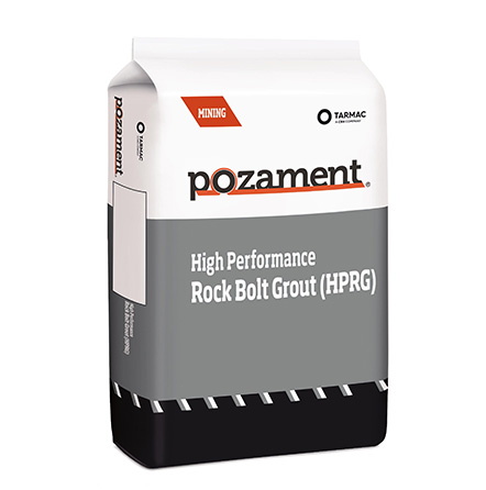 High Performance Rock Bolt Grout (HPRG)