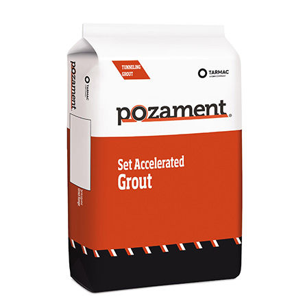 Set Accelerated Grout Range